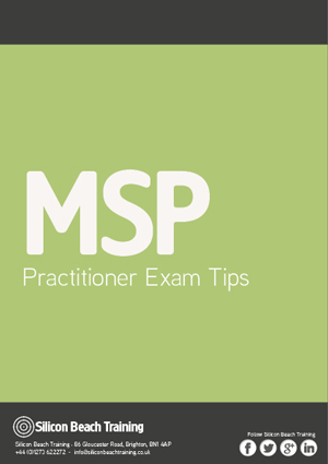 MSP Practitioner Exam Tips