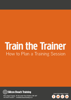 Train the Trainer: How to Plan a Training Session