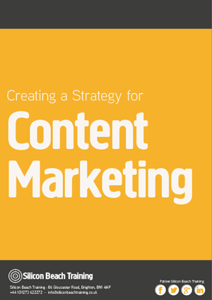 Creating a Strategy for Content Marketing