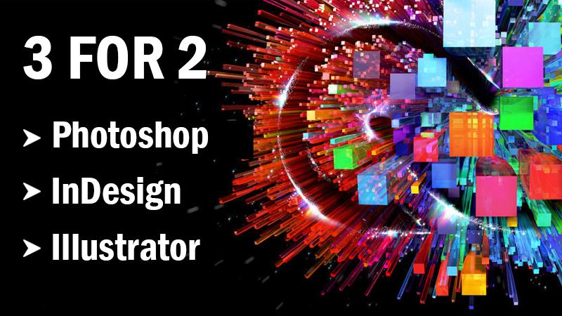 Adobe Training 3 for 2 Offer